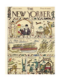 The New Yorker Cover - July 15, 1944 Regular Giclee Print by Rea Irvin