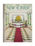 The New Yorker Cover - June 8, 1957 Giclee Print by Edna Eicke
