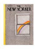 The New Yorker Cover - April 18, 1977 Giclee Print by Pierre LeTan