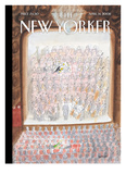 The New Yorker Cover - April 14, 2008 Reproduction proc&#233;d&#233; gicl&#233;e par Jean-Jacques Semp&#233;