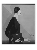 Vogue - January 1929 Giclee Print by Douglas Pollard