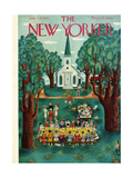 The New Yorker Cover - July 24, 1943 Regular Giclee Print by Ilonka Karasz