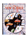 The New Yorker Cover - August 20, 1990 Giclee Print by Kathy Osborn