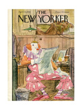 The New Yorker Cover - April 15, 1950 Regular Giclee Print by Perry Barlow