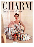 Charm Cover - June 1953 Reproduction proc&#233;d&#233; gicl&#233;e par Maria Martel