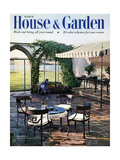 House & Garden Cover - March 1954 Reproduction procédé giclée par William Grigsby