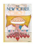 The New Yorker Cover - July 7, 1975 Giclee Print by Robert Weber