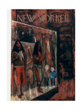 The New Yorker Cover - September 14, 1957 Premium Giclee Print by Robert Kraus