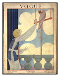 Vogue Cover - July 1919 Giclee Print by Georges Lepape