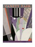 Vanity Fair Cover - March 1928 Regular Giclee Print by Eduardo Garcia Benito