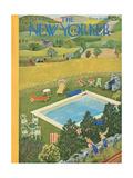 The New Yorker Cover - August 10, 1946 Regular Giclee Print by Ilonka Karasz