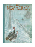 The New Yorker Cover - November 25, 1961 Giclee Print by Frank Modell