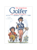 The American Golfer May 21, 1921 Giclee Print by James Montgomery Flagg