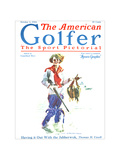 The American Golfer October 4, 1924 Giclee Print by James Montgomery Flagg