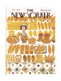The New Yorker Cover - November 11, 1974 Giclee Print by Laura Jean Allen