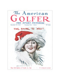 The American Golfer December 15, 1923 Regular Giclee Print by James Montgomery Flagg