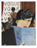 "Vogue Cover - October 1932 Regular Giclee Print by Carl ""Eric"" Erickson"