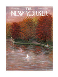 The New Yorker Cover - October 20, 1956 Giclee Print by Edna Eicke
