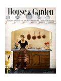 House & Garden Cover - February 1950 Regular Giclee Print by Herbert Matter