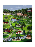 House & Garden - August 1938 Regular Giclee Print by Victor Bobritsky