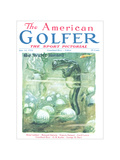 The American Golfer June 14, 1924 Regular Giclee Print by James Montgomery Flagg