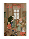 The New Yorker Cover - January 21, 1950 Giclee Print by Edna Eicke