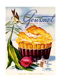 Gourmet Cover - April 1945 Regular Giclee Print by Henry Stahlhut