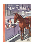 The New Yorker Cover - August 2, 1941 Regular Giclee Print por Peter Arno