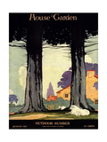 House & Garden Cover - August 1917 Regular Giclee Print by Charles Livingston Bull