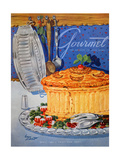 Gourmet Cover - April 1950 Regular Giclee Print by Henry Stahlhut