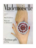 Mademoiselle Cover - November 1951 Regular Giclee Print by  Somoroff