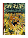 The New Yorker Cover - June 26, 1954 Regular Giclee Print by Ludwig Bemelmans