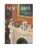 The New Yorker Cover - December 17, 1960 Regular Giclee Print by Beatrice Szanton