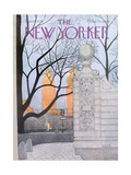 The New Yorker Cover - November 15, 1976 Regular Giclee Print von Charles E. Martin