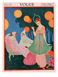 Vogue Cover - July, 1913 Giclee Print by Helen Dryden