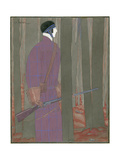 Vogue - January 1923 Giclee Print by Georges Lepape