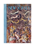 The New Yorker Cover - April 27, 1935 Regular Giclee Print by Reginald Marsh