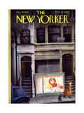 The New Yorker Cover - December 16, 1939 Giclee Print by Roger Duvoisin