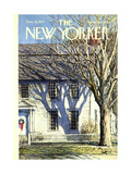 The New Yorker Cover - December 18, 1971 Regular Giclee Print by Arthur Getz