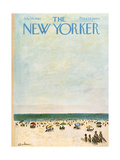 The New Yorker Cover - July 29, 1961 Regular Giclee Print by Abe Birnbaum