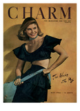 Charm Cover - May 1946 Regular Giclee Print by Jon Abbot