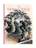 The New Yorker Cover - June 5, 2006 Giclee Print by Edward Sorel