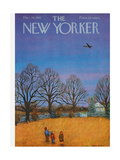 The New Yorker Cover - March 26, 1955 Giclee Print by Edna Eicke