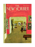 The New Yorker Cover - November 21, 1970 Regular Giclee Print by Laura Jean Allen