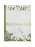 The New Yorker Cover - March 31, 1962 Regular Giclee Print by Ilonka Karasz