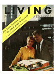 Living for Young Homemakers Cover - June 1957 Regular Giclee Print by Burt Owen