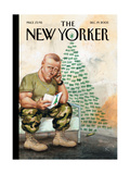 The New Yorker Cover - December 19, 2005 Giclee Print by Anita Kunz