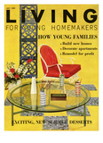 Living for Young Homemakers Cover - July 1959 Regular Giclee Print by Bruce Pendelton