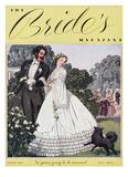 Brides Cover - February, 1937 Regular Giclee Print