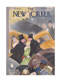 The New Yorker Cover - January 16, 1937 Regular Giclee Print by William Cotton